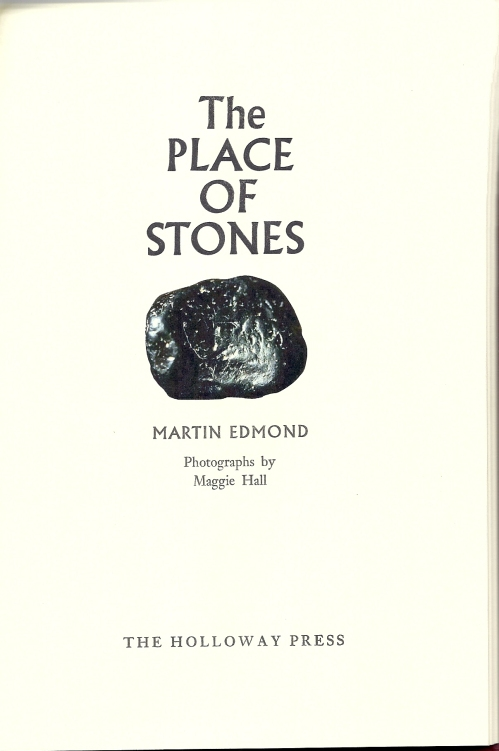 The Place of Stones title page0001
